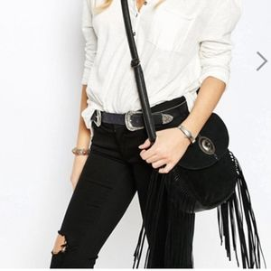Western Saddle Bag by New Look 